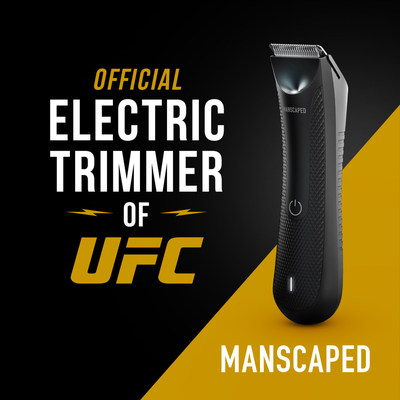 """MANSCAPED named """"Official Electric Trimmer of UFC"""" and announces multi-year partnership with the world's premier mixed martial arts organization."""
