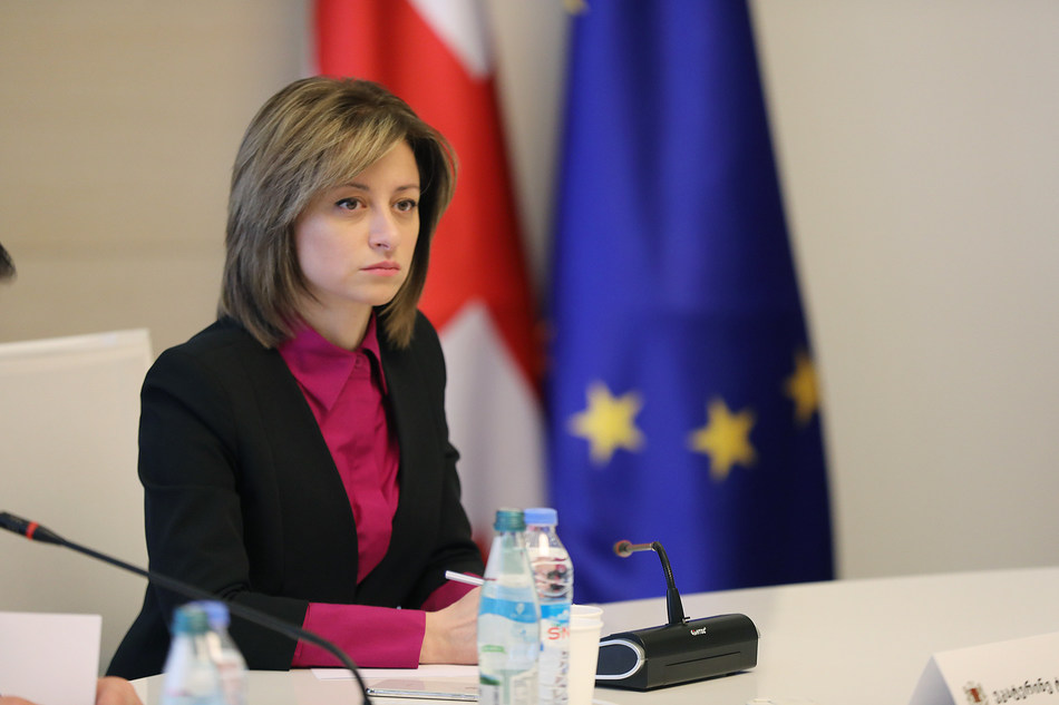 Minister of IDPs, Labor, Health and Social Affairs of Georgia.