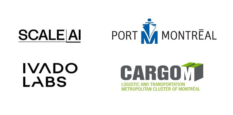 CargoM and the Montreal Port Authority obtained funding from Scale AI for a project for the rapid distribution of essential cargo, developed in collaboration with Ivado Labs. (CNW Group/Metropolitan Cluster of logistics and transportation in Montreal)