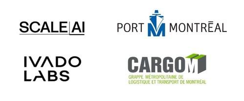 CargoM et l'Administration portuaire de Montréal ont obtenu un financement de Scale AI pour un projet de capacité de distribution rapide des marchandises essentielles, développé en collaboration avec Ivado Labs. (Groupe CNW/Grappe Métropolitaine de Logistique et Transport Montréal)