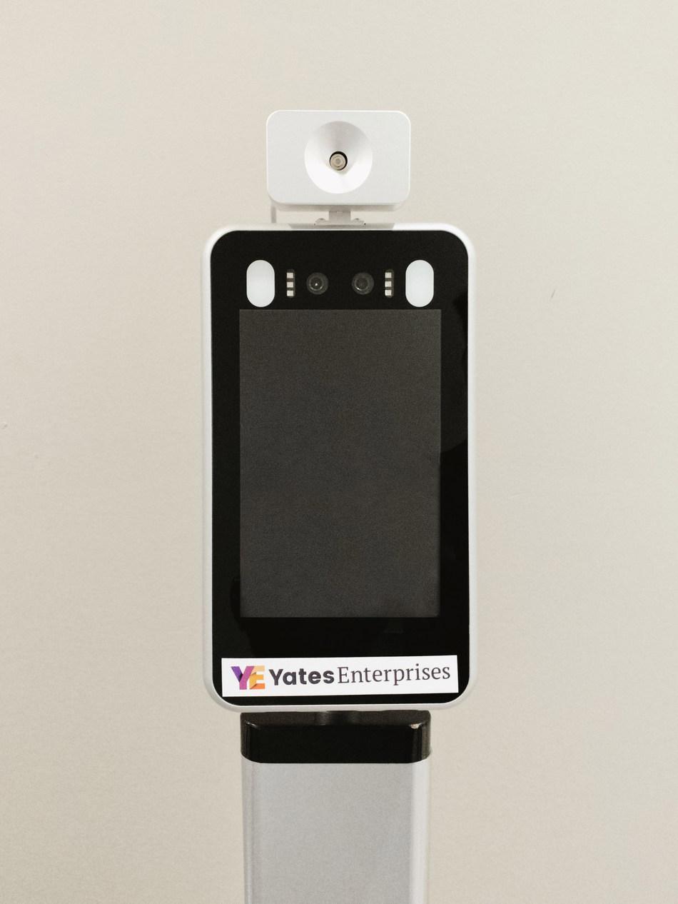Portable Infrared Non-Contact Thermal & Facial Detector, Yates Enterprises