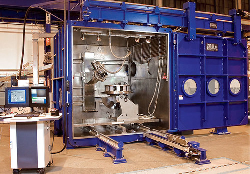 An electron beam (EB) welding system from Sciaky, Inc.
