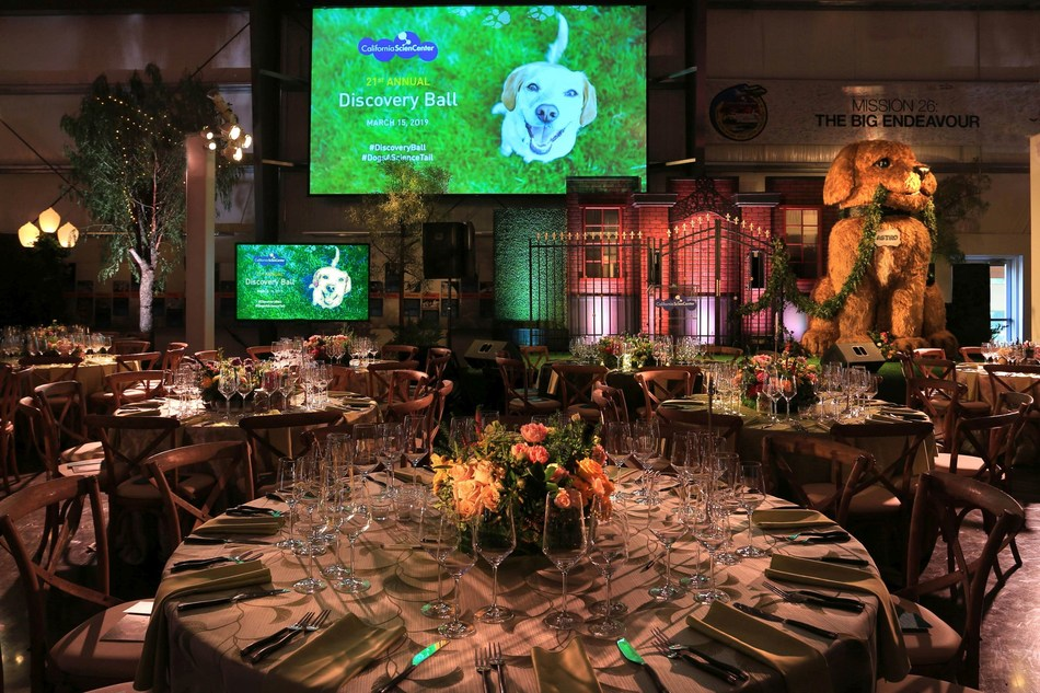 The California Science Center Foundation's 21st Discovery Ball was recognized with a 2020 Gala Award for Best Fundraising Event