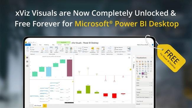 xViz is Free with Microsoft Power BI Desktop