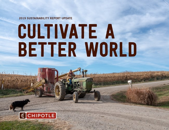 Chipotle's 2019 Sustainability Report Update Showcases Continued Commitment to the Farming Community.