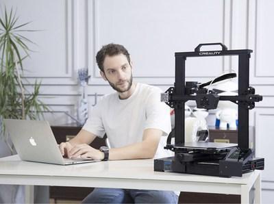 Creality First Crowdfunded 3D Printer CR-6 SE Debuts Kickstarter at 9 P.M., May 6th (GMT +8)