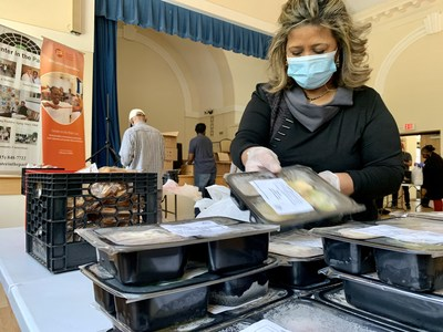 At thousands of community based organizations nationwide, staff and volunteers are collecting, preparing and distributing millions of meals to older adults homebound by the COVID-19 pandemic.