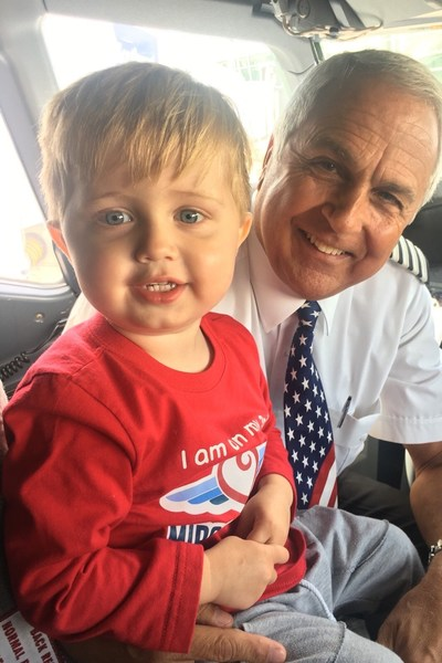 For more than a year, the national charity Miracle Flights has been flying 3-year-old Asher and his parents to California free of charge, so Asher can receive the cutting-edge treatment that's helping him overcome 23 life-threatening food allergies. Since 1985, Miracle Flights has provided 129,438 flights to help families like Asher's reach specialized medical care far from home.