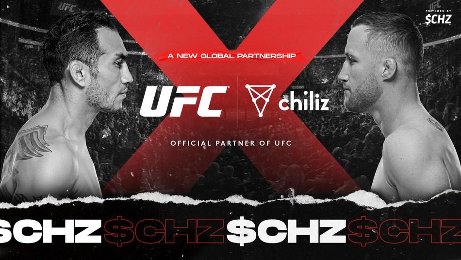 UFC® et Chiliz annoncent un partenariat mondial