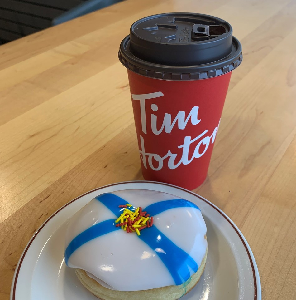 Sales of Tim Hortons Nova Scotia Strong Donut raise more than $1.4 million for Canadian Red Cross Stronger Together Nova Scotia Fund (CNW Group/Tim Hortons)