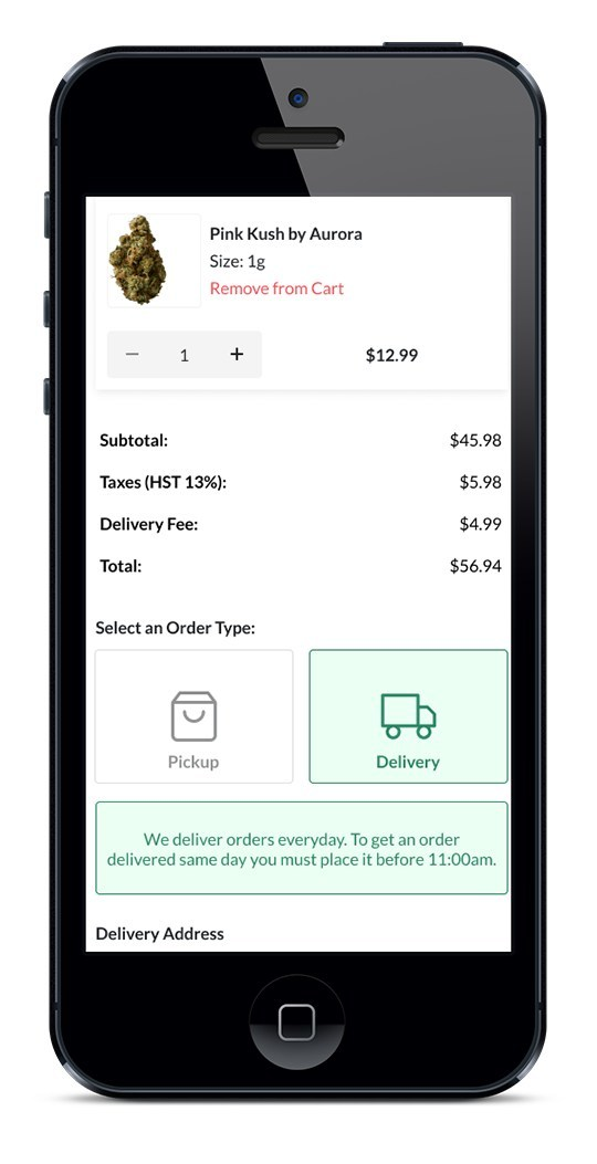 Buddi's Free Click-and-Collect and Delivery Service. (CNW Group/Buddi)