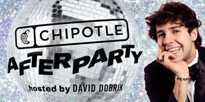 Chipotle will host a Virtual Prom Afterparty on May 16 with digital star David Dobrik. Students can add their names to the guest list by requesting to follow @ChipotleAfterParty on Instagram