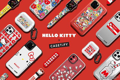 Introduced by global casemaker CASETiFY, the collaboration celebrates the first fashion tech accessory capsule of Sanrio's most iconic character, Hello Kitty.