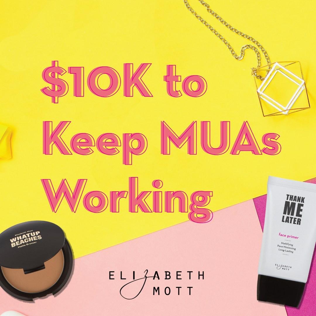 Cosmetic Company Elizabeth Mott Is
