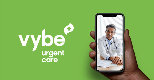 COVID-19 testing begins with a telemedicine visit, allowing a vybe clinician to recommend the test that best meets the patient's needs.