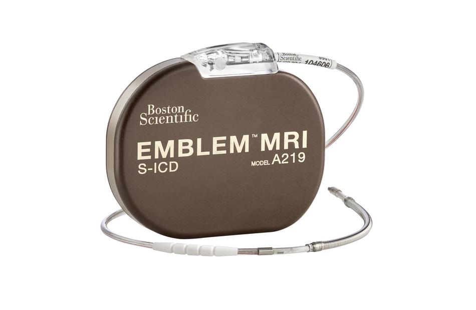 The EMBLEM(TM) MRI S-ICD System, image courtesy of Boston Scientific