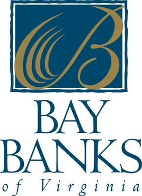 Bay Banks of Virginia Logo (PRNewsfoto/Bay Banks of Virginia, Inc.)