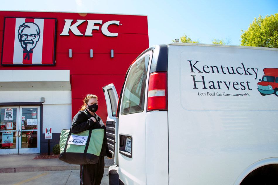 Today, KFC announced a donation of 621,000 pounds of food to food banks across the country through its Harvest Program to combat critical shortages amidst the COVID-19 pandemic. Including this large, one-time donation, KFC will have provided 1.2 million pounds this year to hunger relief organizations like Louisville, Ky.-based Kentucky Harvest.