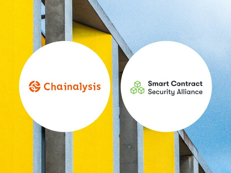 Chainalysis, the blockchain analysis company, today announced its partnership with the Smart Contract Security Alliance (SCSA), an established collaboration of industry leaders that recommend security standards and guidelines for the blockchain.
