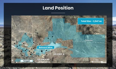 Land Position (CNW Group/Summa Silver Corp.)
