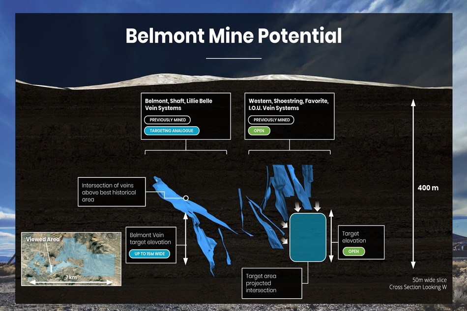 Belmont Mine Potential (CNW Group/Summa Silver Corp.)