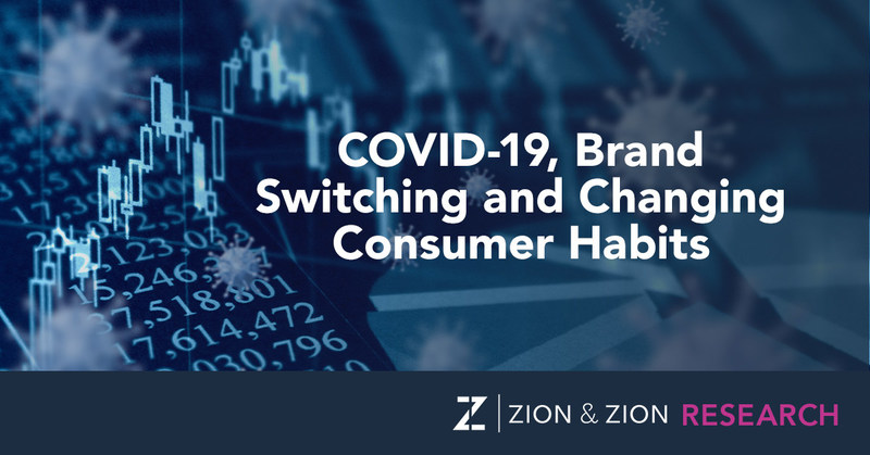 Zion & Zion Research Study - COVID-19, Brand Switching and Changing Consumer Habits