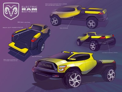 Three students from Michigan and California have taken the top spots in this year's FCA Drive for Design contest. Entries submitted from high school students in grades 10-12 from across the country were reviewed virtually by FCA's automotive design team. The 10-week competition asked students to sketch a Ram truck of the future. For detailed contest rules and information, visit www.FCAdrivefordesign.com.