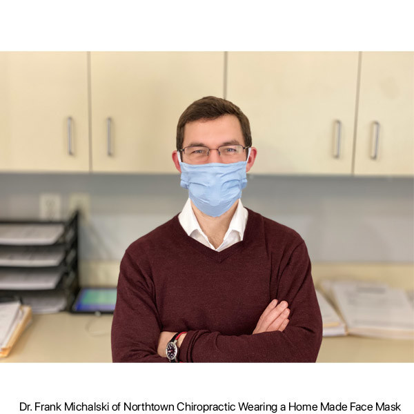 Dr. Frank Michalski of Northtown Chiropractic in Buffalo, NY is frustrated by the lack of availability to buy protective masks and to comply with a state mandate.