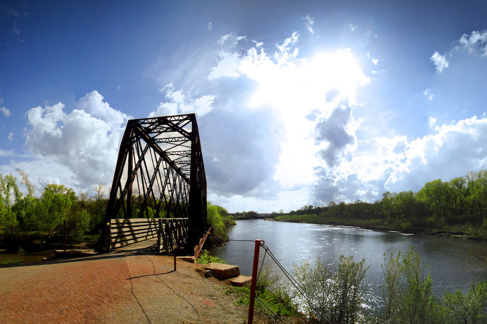 The Cowboy Recreation and Nature Trail in Nebraska is one of more than 145 host trails that comprise the route of the developing 3,700+ mile Great American Rail-Trail, a signature project of Rails-to-Trails Conservancy. Photo by Scott Bohaty, courtesy of Rails-to-Trails Conservancy.
