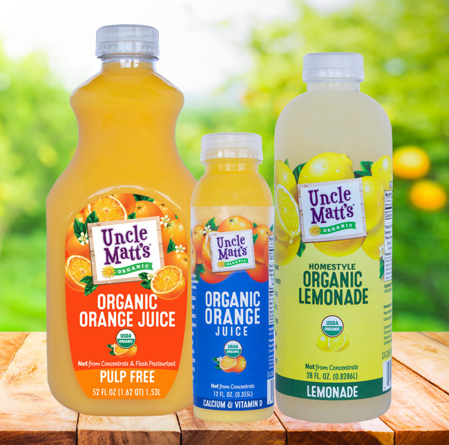 Uncle Matt's Organic Juices and Beverages