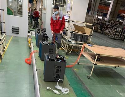 Los calentadores ExpertLine-Mini para piscinas están en producción en masa