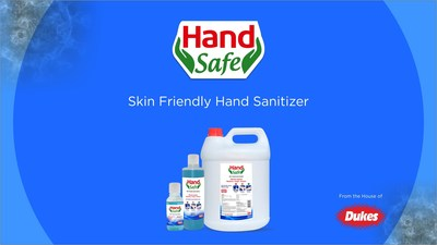 Dukes India: Launches Hand Safe Sanitizers