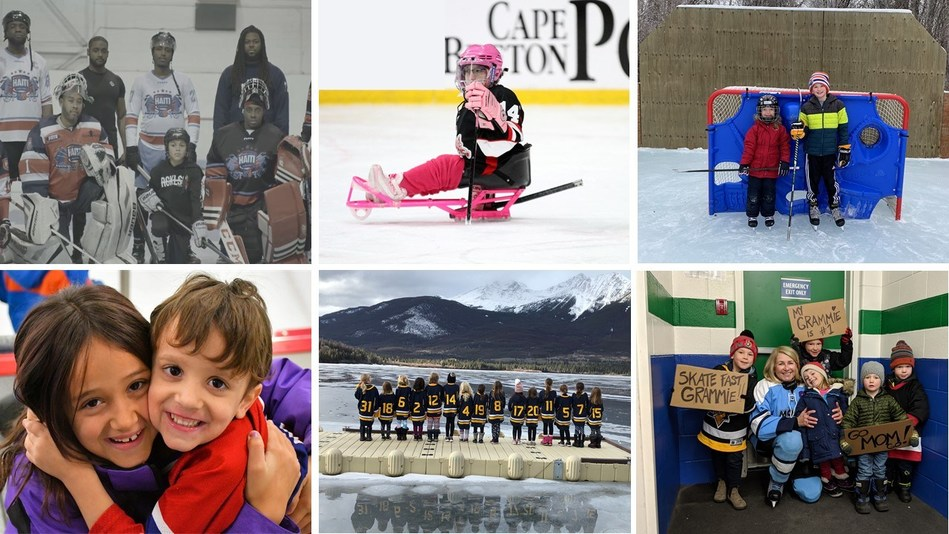 Last year, Scotiabank asked Canadians to submit home videos and photos that demonstrate their love of hockey, as players, coaches, parents, guardians and fans. Combined with content captured by 25 documentary film crews and award-winning filmmakers, Hockey 24 was born. Check-out the trailer here. (CNW Group/Scotiabank)