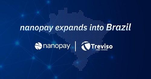 nanopay expands into Brazil