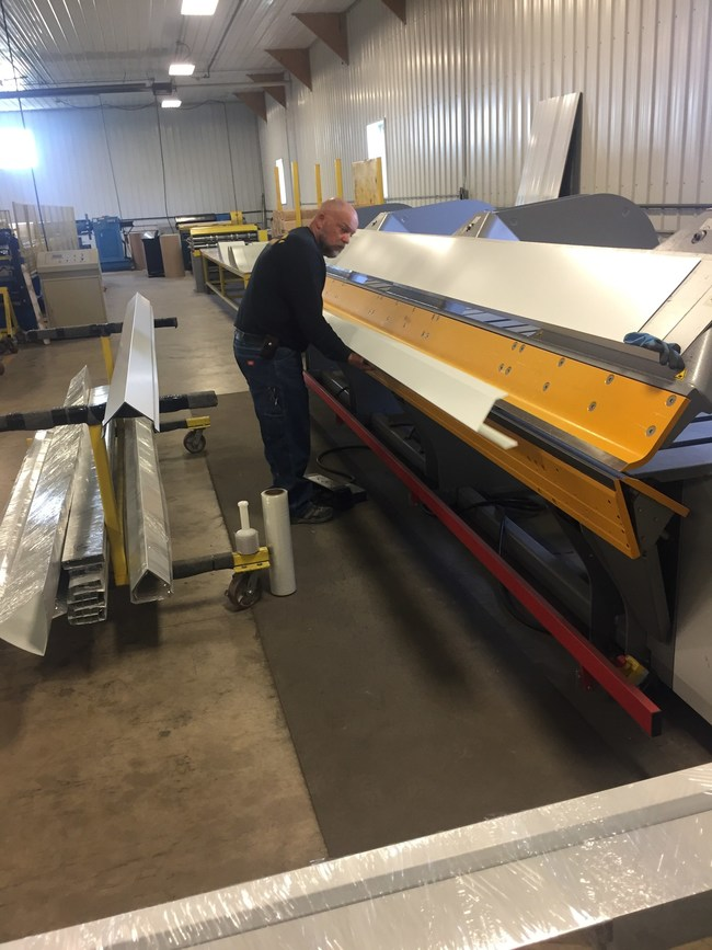 Midwest Metals can bend steel to any shape needed for a project