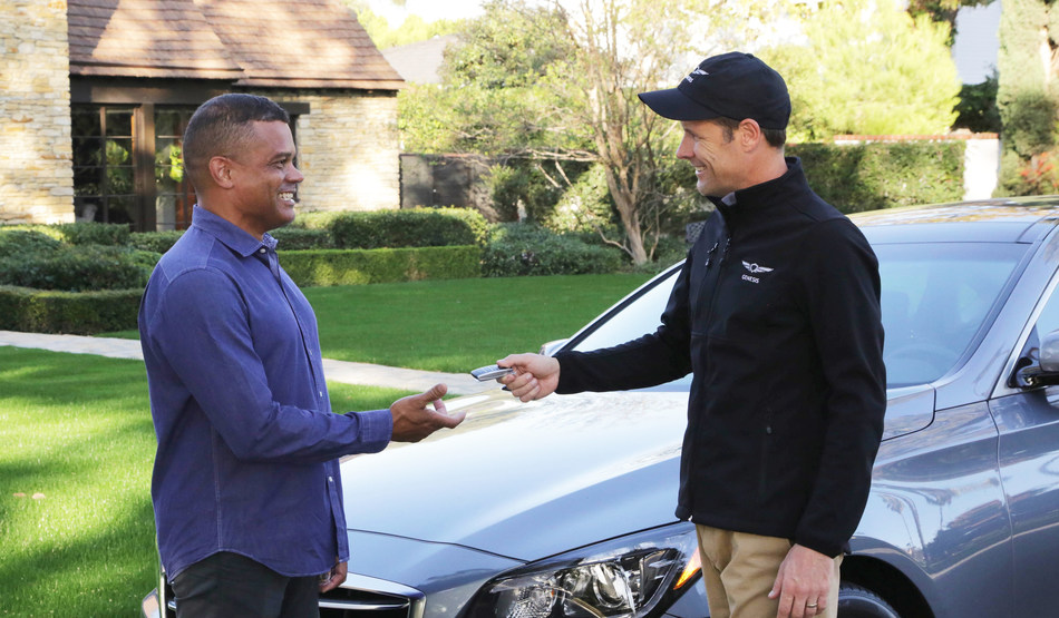 The Genesis Concierge can even arrange to have your new Genesis delivered to you.