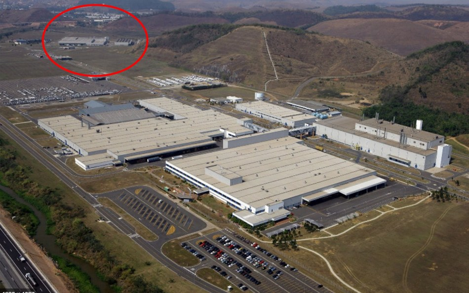 OXIS/CODEMGE manufacturing plant in Brazil