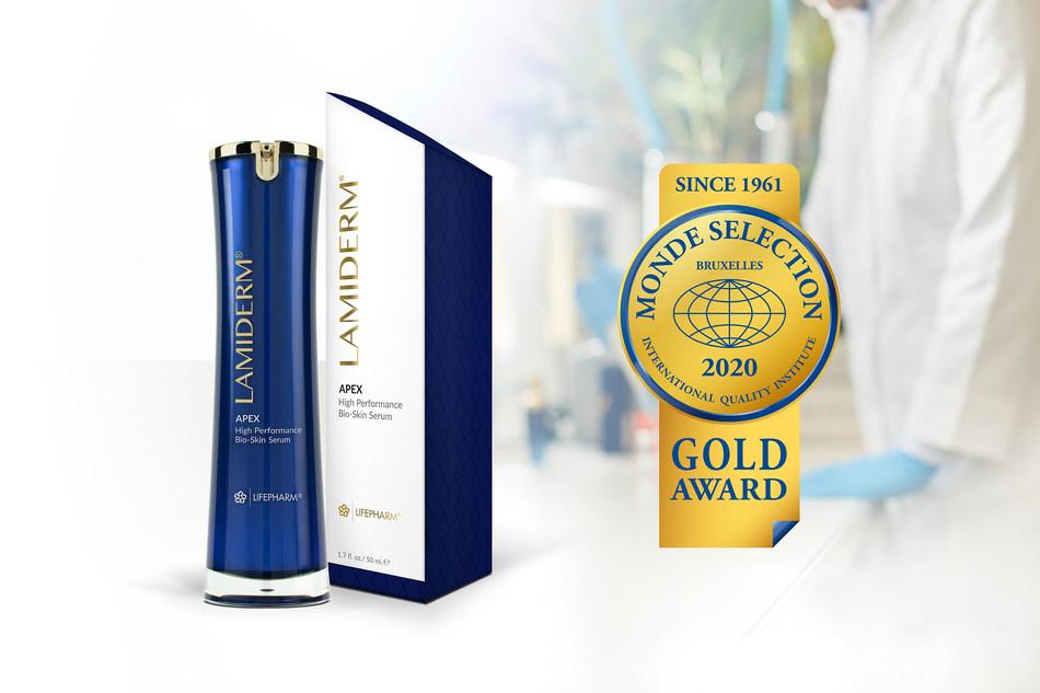 Monde Selection 2020 Gold Award