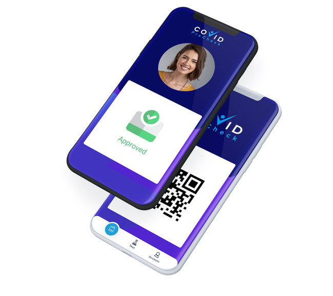 COVID PreCheck Digital Health Pass App