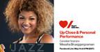 Measha Brueggergosman Up-close & Personal Facebook Live Event in support of Heart & Stroke