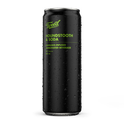 Tweed Houndstooth & Soda (CNW Group/Canopy Growth Corporation)