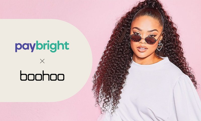 Global fashion e-tailer boohoo expands installment payment options to Canada through partnership with PayBright. (CNW Group/PayBright)