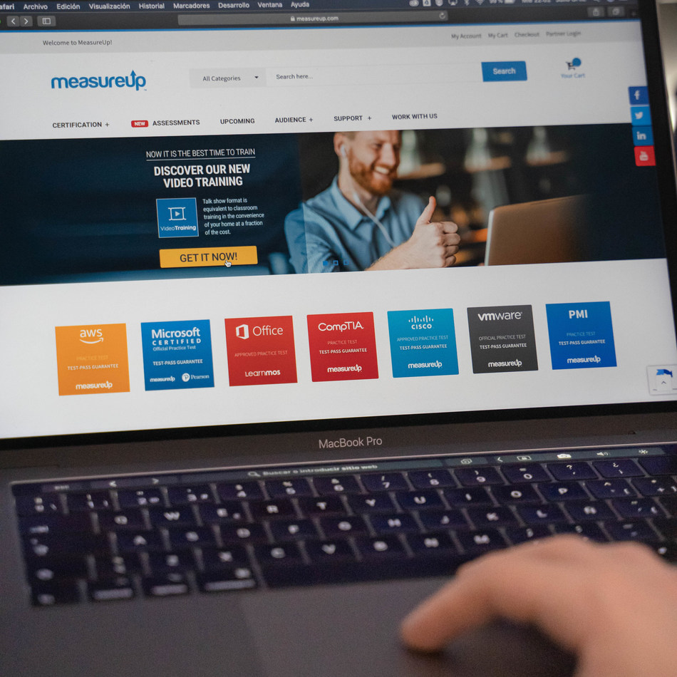 Thousands of professionals use MeasureUp in digital skills training, with special emphasis on technologies that support remote working and digital transformation