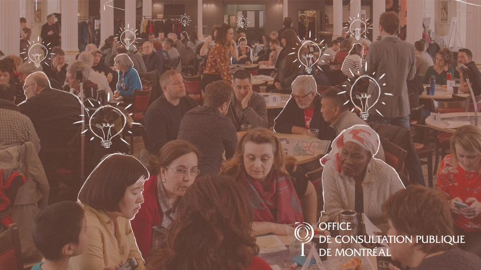 Annual report of the Office de consultation publique de Montréal is available both in English and French, in PDF and web (CNW Group/Office de consultation publique de Montréal)