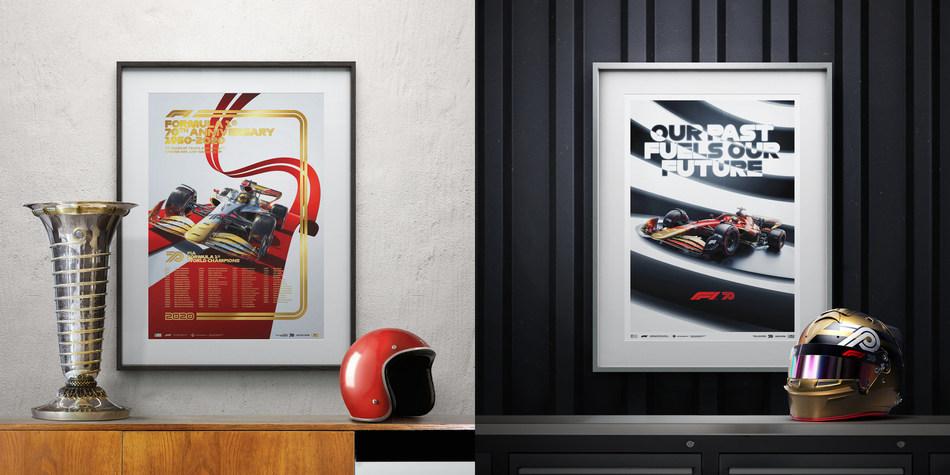 Formula 1® Chooses Automobilist to Help Celebrate 70th Anniversary (PRNewsfoto/Automobilist)