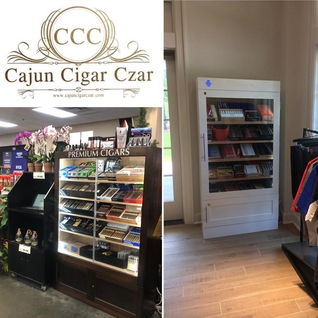 Custom Humidors at retail locations