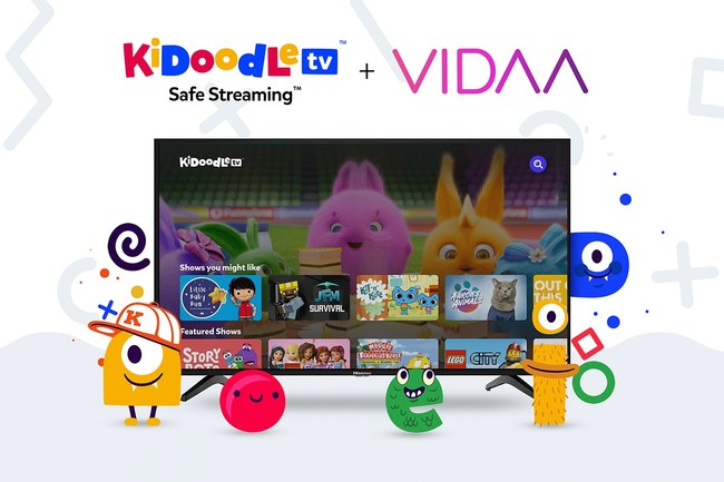 Kidoodle.TV officially available on VIDAA-Enabled TVs for families around the world.