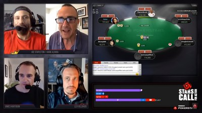 The Stars CALL for Action - Powered by PokerStars online poker tournament raised an enormous $1 million for charity