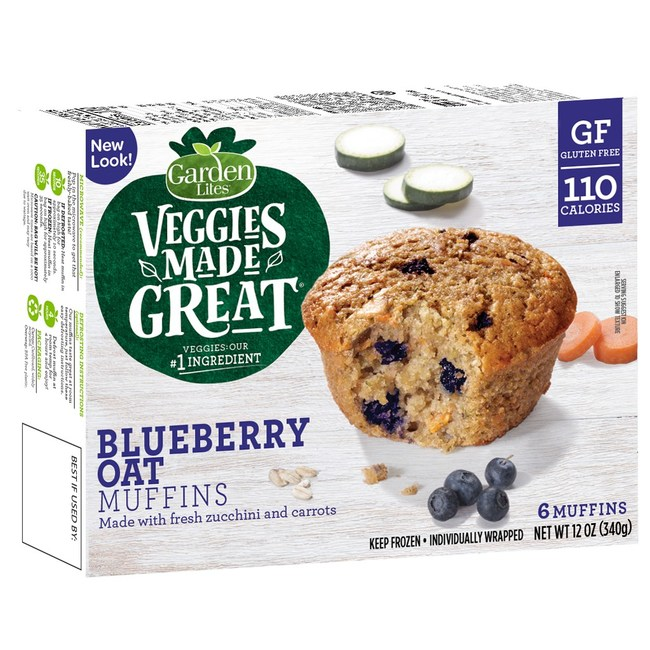 Veggies Made Great Blueberry Oat Muffins