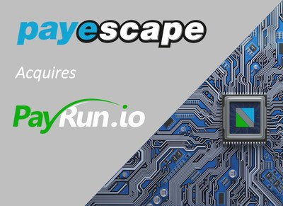 Payescape Acquires API Payroll Solution PayRun.io - Payescape, one of the UK's fastest growing payroll providers, has added a powerful API payroll engine, PayRun.io to their business.